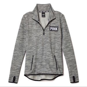 Victoria's Secret VS PINK Reflective Half Zip M